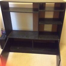 Black wall unit Stirling Stirling Area Preview