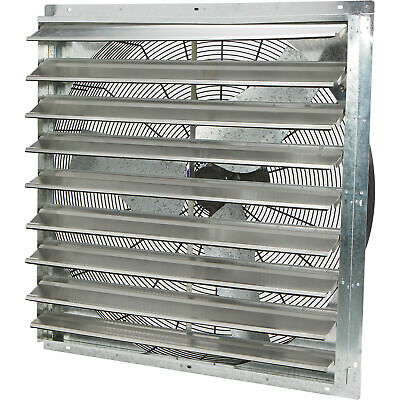 Strongway Enclosed Variable Speed Shutter Exhaust Fan - 36in. 12 Hp 6128 Cfm