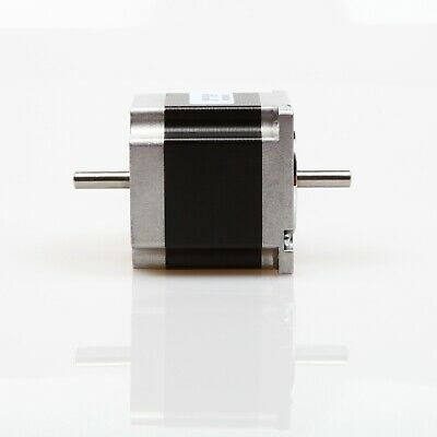 Schrittmotor Nema 23 Stepper Motor 180 oz-in 2A 56mm Dual Shaft CNC/3D Printer
