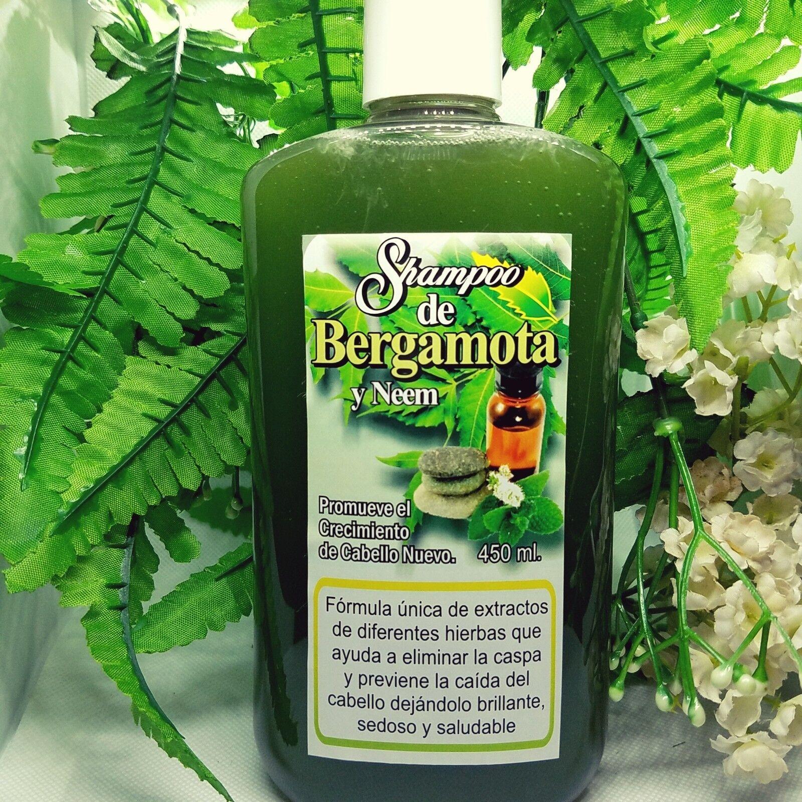 mexican |  BERGAMOTA ORGANIC |  shampoo |  HAIR GROWTH | CAI