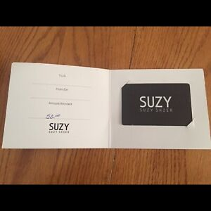 $50 Suzy card for best offer!