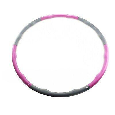 FiduSport Hula Hoop Fitness Reifen Gymnastik 6-teilig 1,2kg Ø100cm Hüftmassage