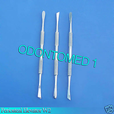 6 West Periosteal Dental Elevator W2 Surgery Instruments