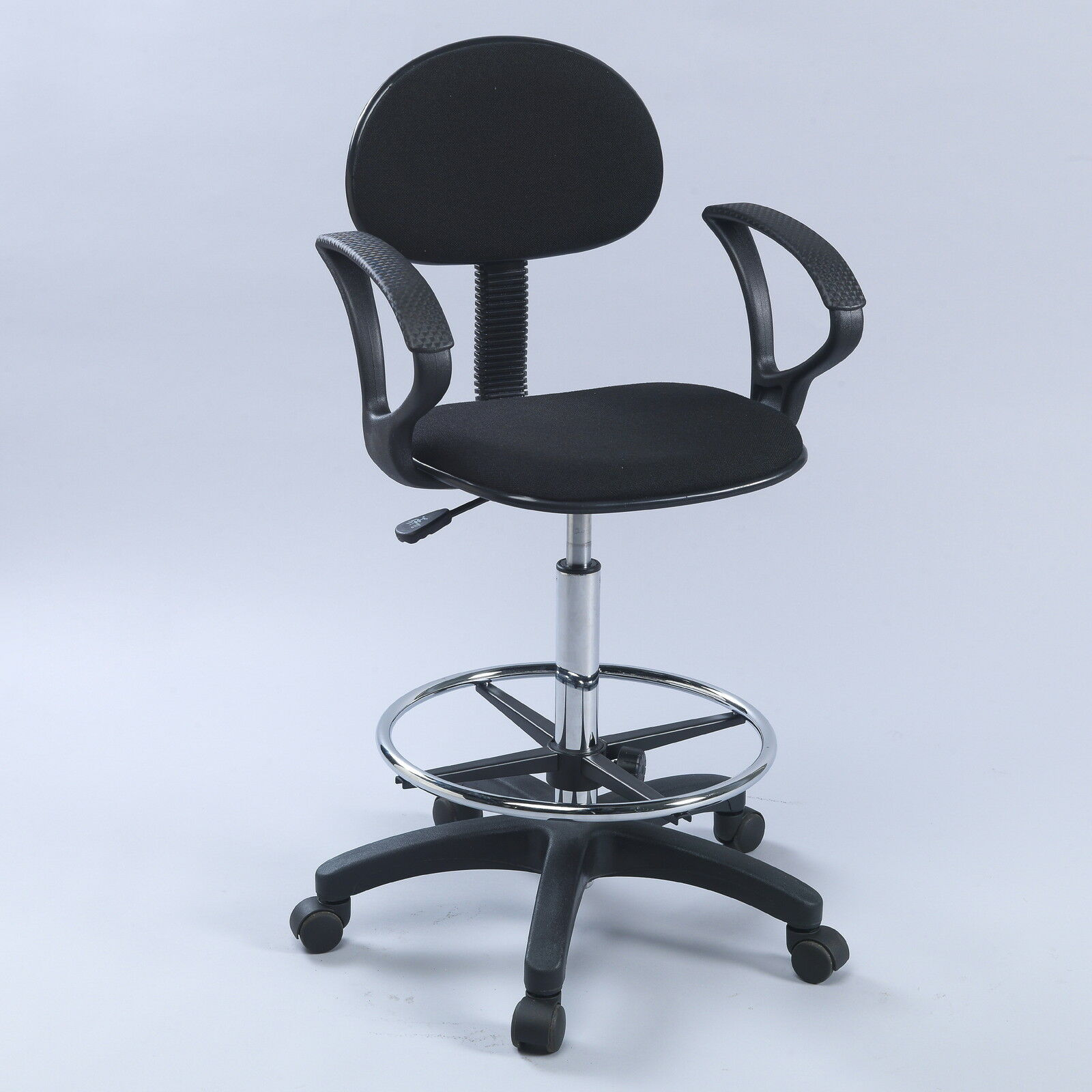 Counter Drafting Height Economy Office Chair W Arms Ebay
