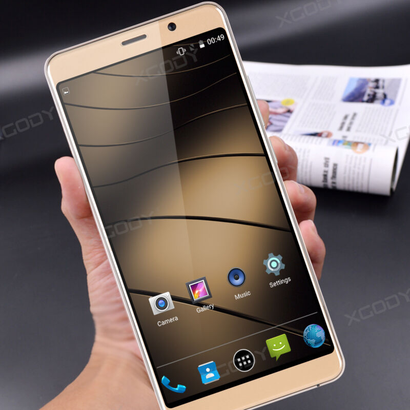 """Android Phone - A9 Android 7.0 Unlocked 6.0"""" Cell Phone Quad Core 2 SIM 3G T-Mobile Smartphone"""