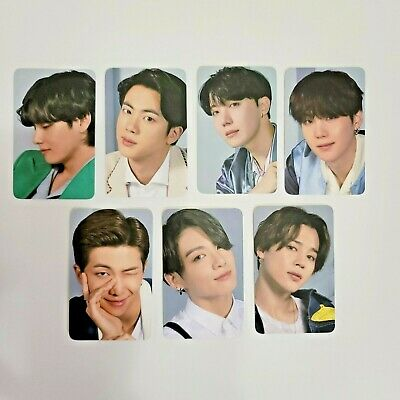 BTS samsung Photo card set ver2 galaxy official all member 7ea 1pack