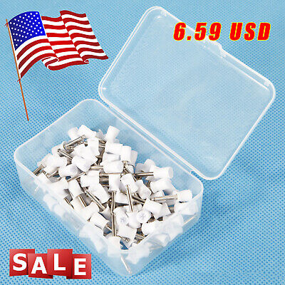 Usa 100pc Dental Latch Prophy Polishing Cup Cups For Contra Angle Handpiece Fda