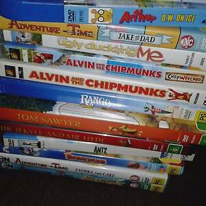 bulk lot of dvds over 80 with some complete seasons and pc games Bethania Logan Area Preview