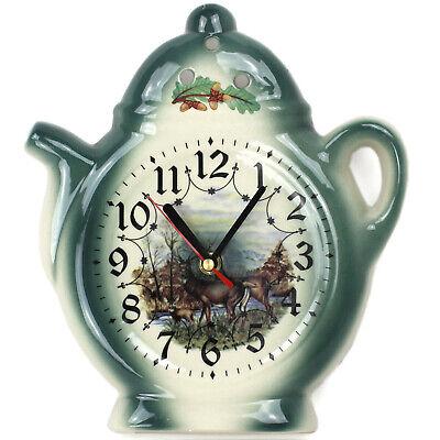 Reloj de Pared para la Cocina - Cerámica - en Estilo Casa...
