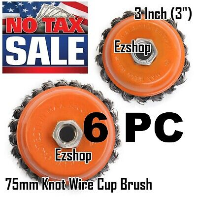 4 Knot Wire Wheel (Wire Cup Brush Wheel 3