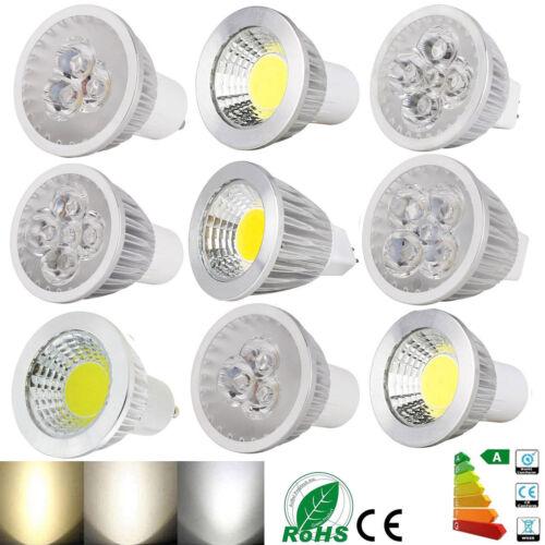 Dimmable LED COB Epistar Spotlight Bulb GU10 MR16 GU5.3 6W 9W 12W 15W White Lamp