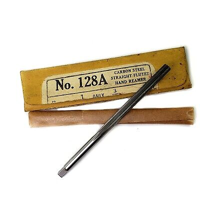 Cleveland Twist 128a Carbon Steel Straight Flute Hand Reamer 316 Vintage Nos
