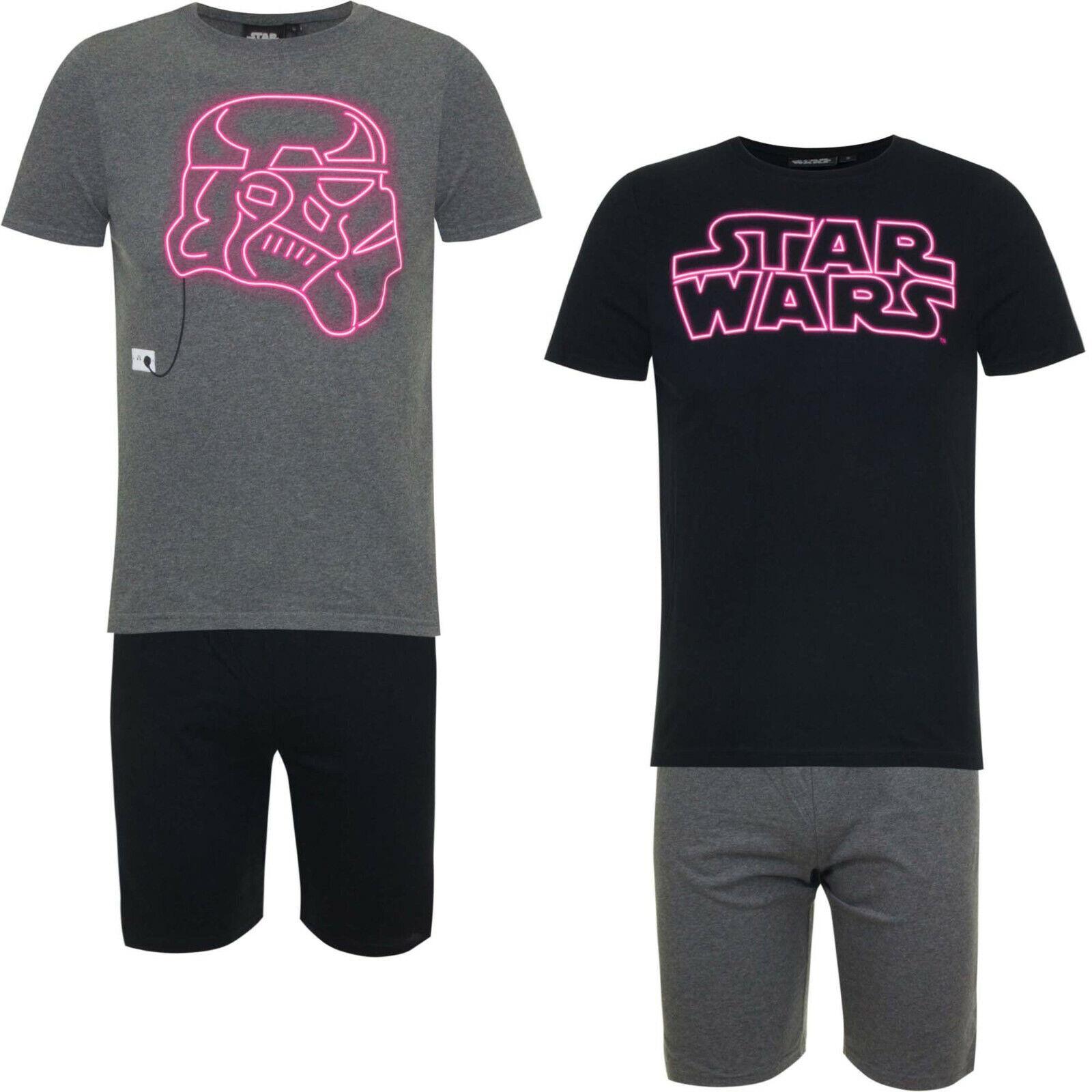 STAR WARS  Herren Pyjama/Schlafanzug Shorty  100%Baumwolle    S    M   L   XL
