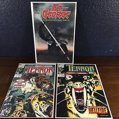 1st Solo Terror 1 & 2 St.George (Deadpool Mercs Geld Team) (Erste Comic Deadpool)