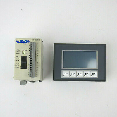 Automation Direct Ea1-s3ml Touch Panel Koyo Click C0-00dd1-d Plc