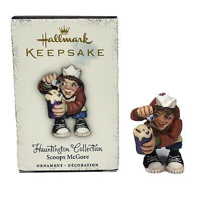 Hallmark SCOOPS McGORE Halloween Ornament Hauntington Collection 2005
