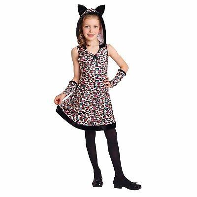 Totally Ghoul Leopard Girl Halloween Costume Medium