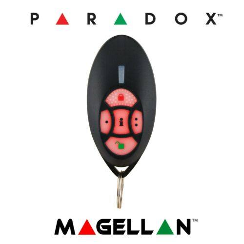 Paradox REM2 - 5 Button TwoWay Remote Control w/Backlit Buttons (Genuine) 433MHz