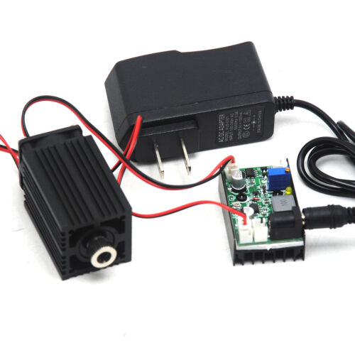Dot 850nm 1W 1000mW Infrared IR Laser Module Diode Long Time Work w/12V Adapter