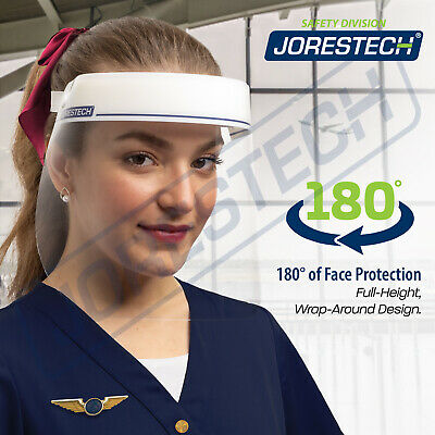 Safety Full Face Shield Reusable Washable Protection Cover Anti-splash Jorestech