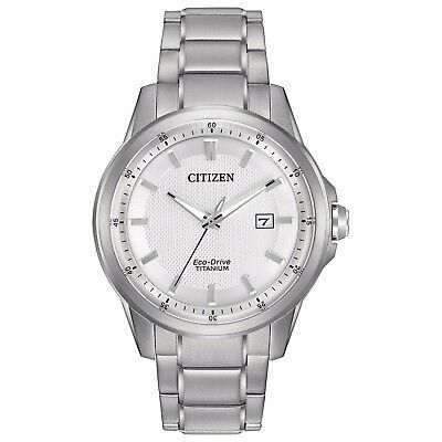 Citizen Eco-Drive Men's AW1490-50A Super Titanium Bracelet 42mm Watch