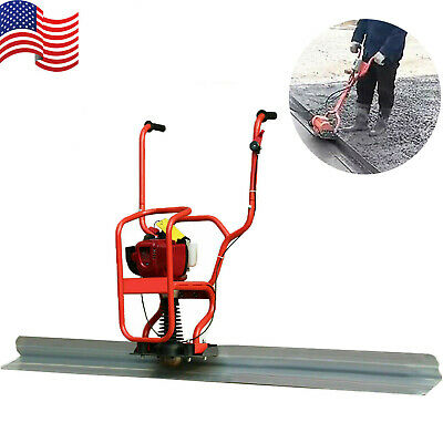 4 Stroke Gas Concrete Wet Screed Power Screed Cement 37.7cc 6.56ft Board Us