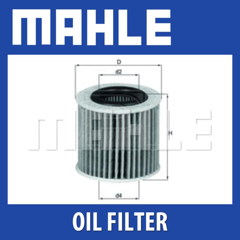 Mahle Oil Filter OX416D1 - Fits Toyota Avensis, Auris - Genuine Part