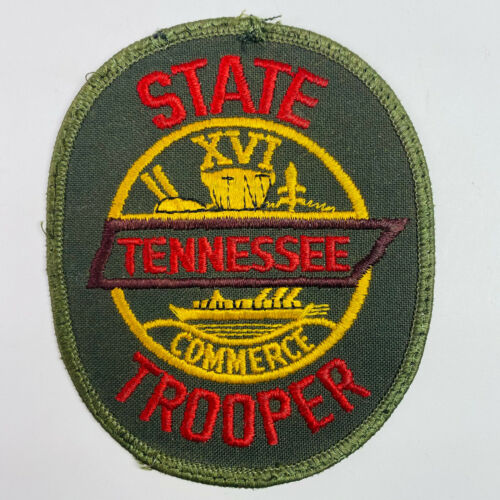 Tennessee State Trooper Green TN Patch (A2-B) USED