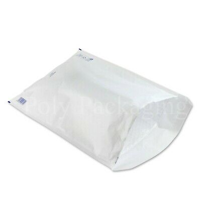 300 x WHITE BUBBLE ENVELOPES 350x470mm(K/7)(EP10)Padded Bags EXTRA LARGE
