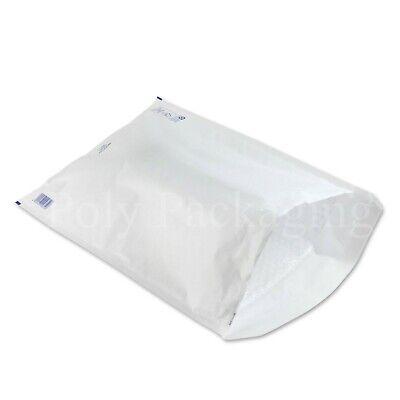 100 x WHITE BUBBLE ENVELOPES 350x470mm(K/7)(EP10)Padded Bags EXTRA LARGE