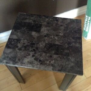 SMALL SIDE TABLE  16X18 NO HOLDS....$10