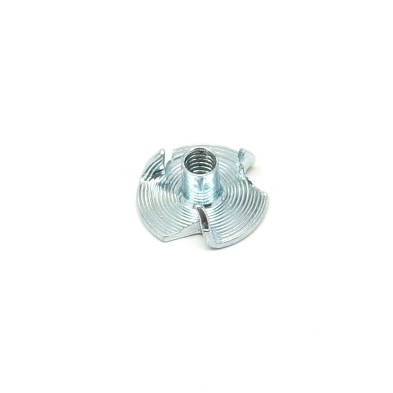 """8-32 x 1/4"""" Tee Nut 3 Prong ZP - Select Your Quantity - Wholesale Available"""