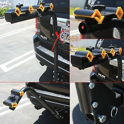 4 Bicycle Bike Rack Hitch Mount Carrier Car Swing Down 120lbs capacity 2 + 2