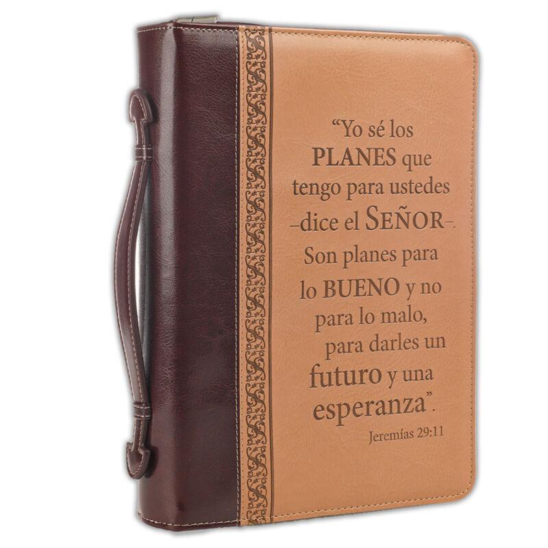 Forro para Biblia Grande - Porque yo se muy bien los planes - Jeremias 29:11