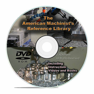 American Machinist Reference Library Machinery Handbook Shop Tool Manuals CD V24