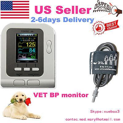 Vet Veterinary Digital Blood Pressure Monitor Contec08a-vetcuff 6-11cm