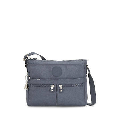 Kipling New Angie Crossbody Bag Navy Bl G Twist