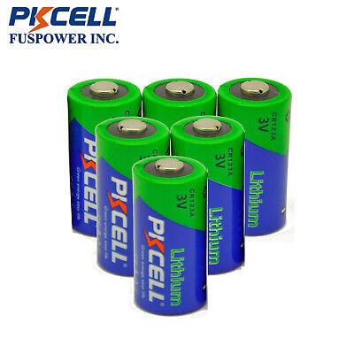 PKCELL 6PC EL123A CR123A 123A DL123A 3V 1500mAh Photo Lithium Batteries for sale  Montclair