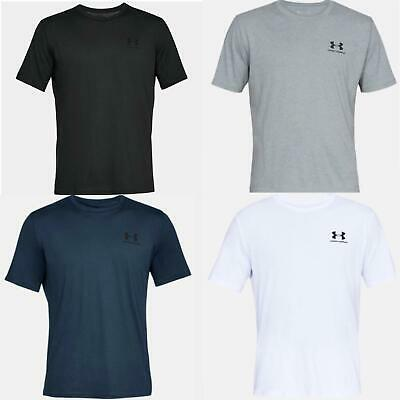 Under Armour Mens T Shirt UA Sportstyle Crew Neck Short Sleeve Gym Fitness Tee
