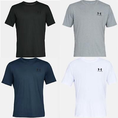Under Armour Mens T Shirt UA Sportstyle Crew Neck Short Sleeve Gym Fitness Tee