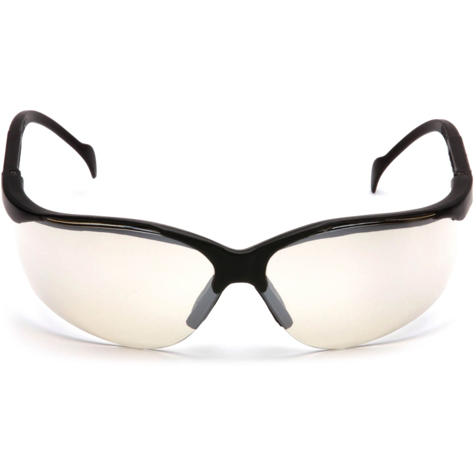 Pyramex Venture II Black Frame Safety Glasses w// Indoor//Outdoor Anti-Fog Lens