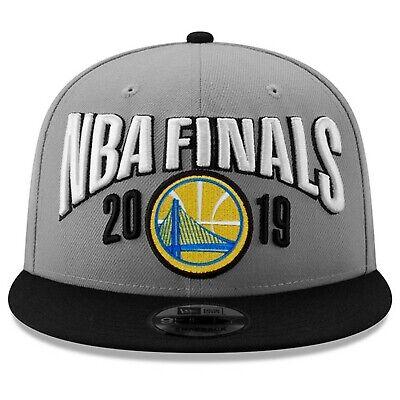 los angeles b071b 7792d Golden State Warriors New Era 2019 Conference Champions Locker Room Snapback  Hat