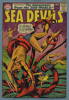 Sea Devils #18 1964 DC Comics m