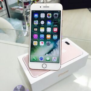 mint condition iphone 7 plus 128gb rose gold tax invoice unlocked Surfers Paradise Gold Coast City Preview