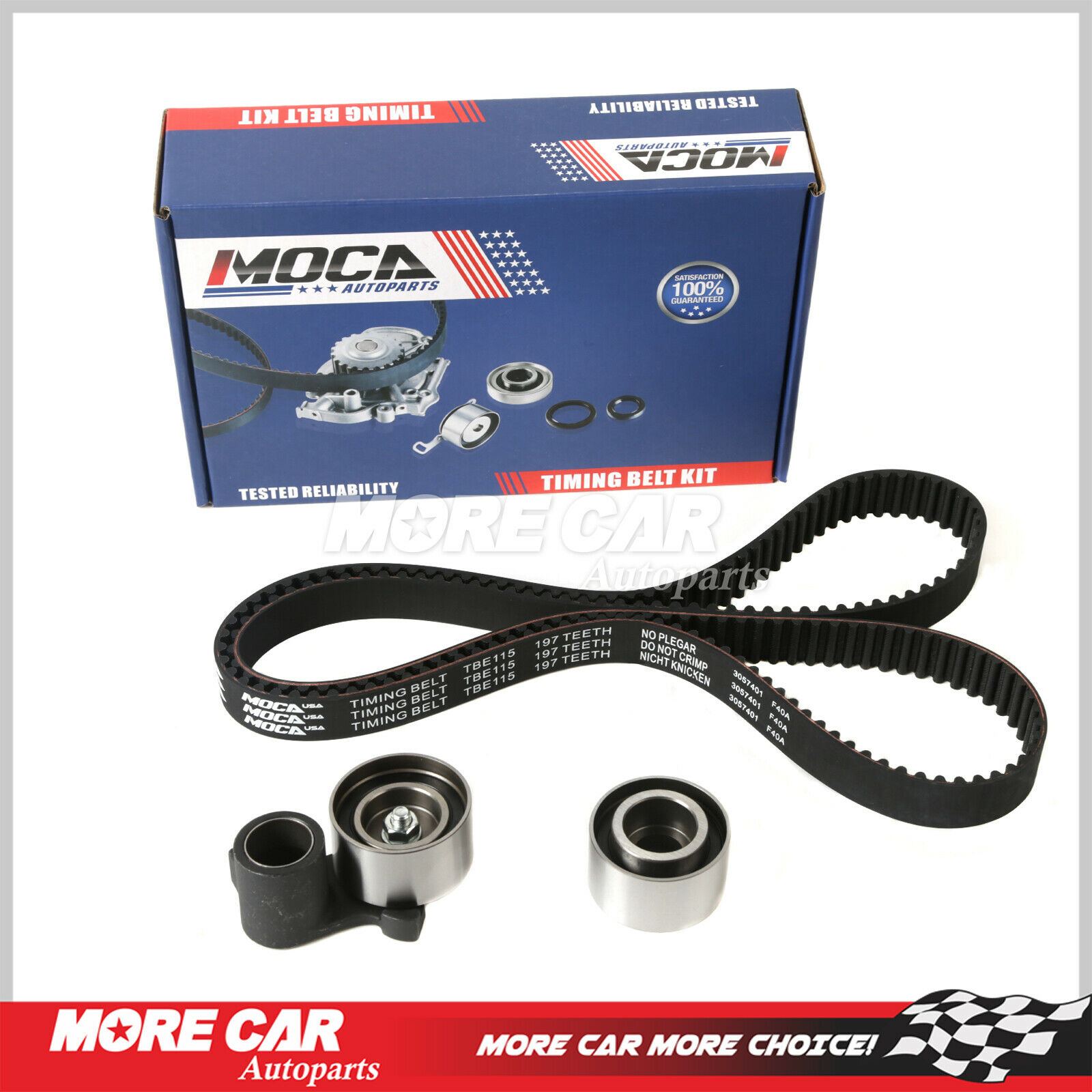 Timing Belt Kit For 97-04 Acura TL CL MDX Honda Accord