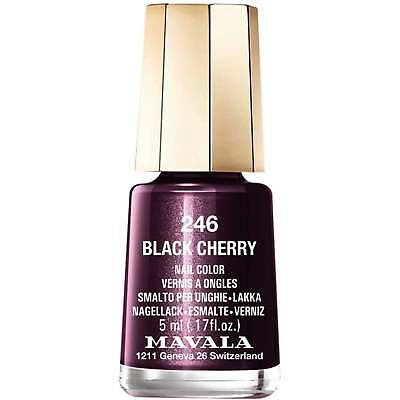 Mavala Mini Nail Color Nail Polish Black Cherry 246 5ml Ebay