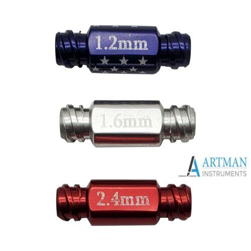 Transfer Adapter set of 3 for Luer Lock Cannula Liposuction ARTMAN brand