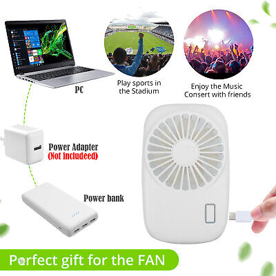 Best Portable Mini Hand Held USB Rechargeable Summer Air Conditioner Cooler