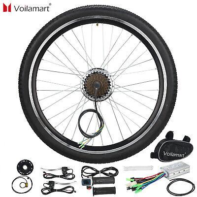 "36V 250W Rear Wheel Electric Bicycle Motor Conversion Kit E Bike Cycling Hub 26"""
