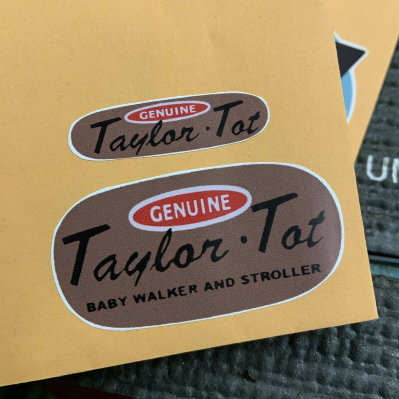 Taylor Tot Stroller Vintage Reproduction Decals
